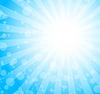 Vector clipart: blue burst background