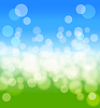 Vector clipart: spring abstract background with lights effects