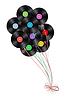 виниловые диски как воздушные шары