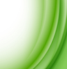 Vector clipart: Abstract green waves background