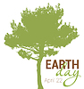 Vector clipart: Earth Day greeting with abstract tree