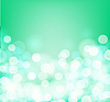Vector clipart: Green and aqua colors blurry square background.