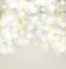 Abstract silver bokeh simple background with blurre
