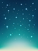 Vector clipart: background with night, stars in sky, shining light