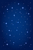 Vector clipart: Night starry background. vertical design template