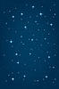 Vector clipart: Blue night starry background. vertical design