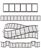 set of film strips for Your design