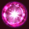 Векторный клипарт: розовый цвет фона всплеск взрыв, с лучами ап