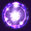 Векторный клипарт: свет взрыв фиолетовый взрыв с лучами, абстрактный