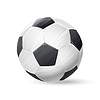soccer ball with shadow. football sports item