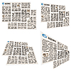 Collection of newspapers | Stock Illustration
