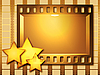 Gold movie | Stock Illustration
