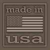 Etikett Made in USA | Stock Illustration