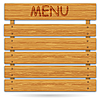 Menu board for restaurant | Stock Illustration