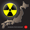 Photo 300 DPI: Radioactive danger in Japan