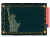 Photo 300 DPI: Statue of the Liberty and jeans