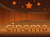 Vector clipart: Cinema stars