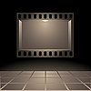 Vector clipart: Cinema`s board