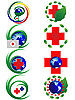 Vector clipart: medical signs