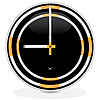 Vector clipart: clocks of cigarettes