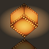 Vector clipart: Film cube