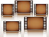 Vector clipart: Film film film