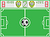 Vector clipart: soccer field and sports board