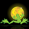 Vector clipart: Frog and dollar