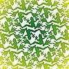 Векторный клипарт: Зеленые лягушки