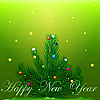 Vector clipart: Happy New Year