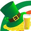 Векторный клипарт: Hat, пиво и деньги