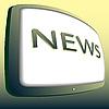 Vector clipart: Icon news