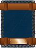 Vector clipart: Label belt jeans