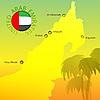 Map Emirates