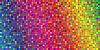 Векторный клипарт: Мозаика цвета