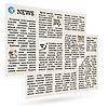 Vector clipart: Newspaper