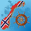 Векторный клипарт: Норвегия флаг