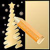 Vector clipart: Pencil and Christmas tree