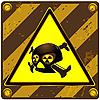 Vector clipart: Plate danger