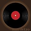 Vector clipart: Retro music