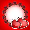 Векторный клипарт: Кольцо из роз