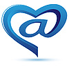 Vector clipart: Sign e-mail