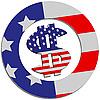 Vector clipart: Sign USA