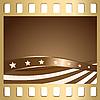 Векторный клипарт: Слайд и флаг