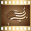 Vector clipart: Slide USA