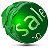 Vector clipart: Sphere-sale