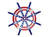 Vector clipart: Steering wheel