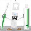Vector clipart: Stomatologist