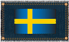 Vector clipart: The Swedish flag