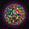 Vector clipart: The color sphere